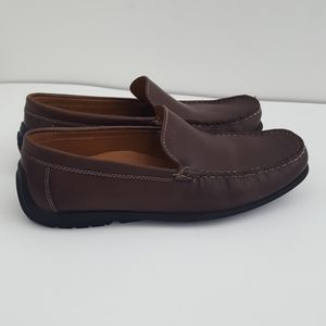 Ecco brown leather loafer size EU 42 US 8-8.5